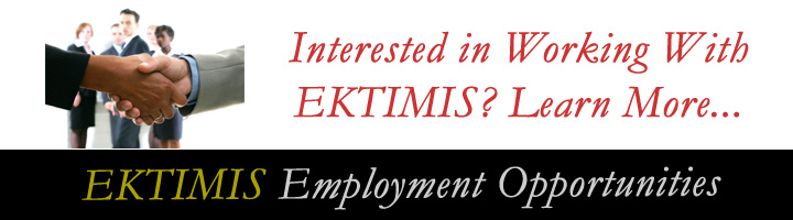 EKTIMIS Employment and Job Opportunity