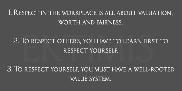 The Top Ten Laws of Respect in the Workplace- A Professional Guide