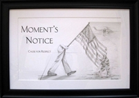 EKTIMIS Artifact - Respect Themed Framed Picture - Military Special Edition - Moment's Notice