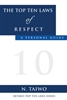 EKTIMIS - Book on Respect - The Top Ten Laws of Respect - A Personal Guide