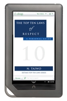 EKTIMIS - Books - The Top Ten Laws of Respect eBook Series - Book on Respect