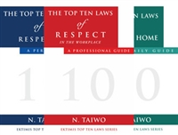 EKTIMIS - Books on Respect - The Top Ten Laws of Respect Book Series - Triple Pack