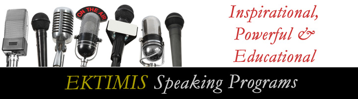 EKTIMIS Respect Professional Speaker Bureau Program