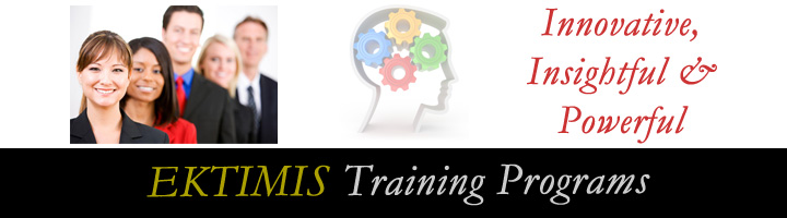 EKTIMIS Respect in the Workplace and Respect at Home Training Programs
