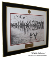 "EKTIMIS 9-11 10th Year Anniversary Limited Edition Collectible Artifact - ""Reflection"""