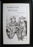 EKTIMIS Artifact - Respect Themed Framed Picture - Firefighter Special Edition - Firefighter Kid
