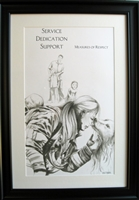 EKTIMIS Artifact - Respect Themed Framed Picture - Firefighter Special Edition - Firefighter Rescue